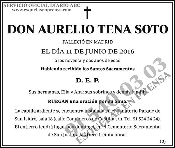 Aurelio Tena Soto